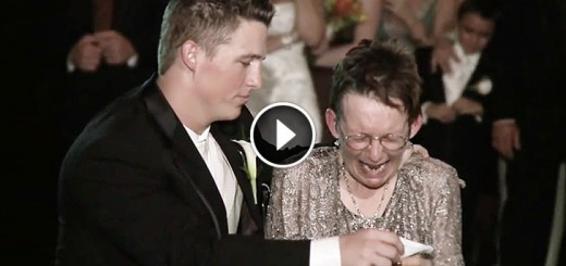 groom als mother dance