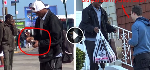 Man Finds a Wallet and Goes Shopping