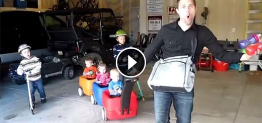 daddy five kids parody