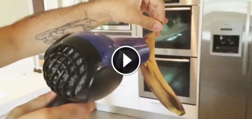 How To Rejuvenate Overripe Bananas With A Hair Dryer