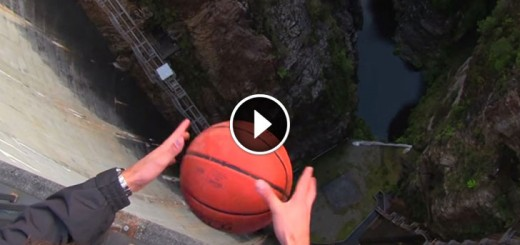 dropped basketball magnus effect
