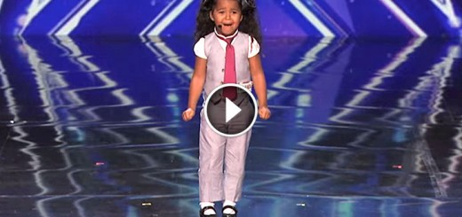 tiny girl wows judges with her voice