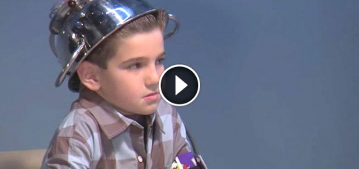 kids on fake lie detector