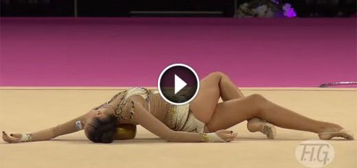 the world of rhythmic gymnastics