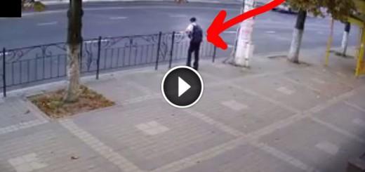 boy moves before car crash