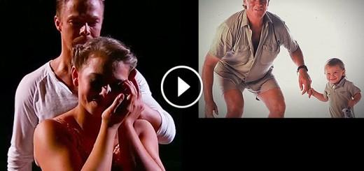 bindi irwin father tribute dance