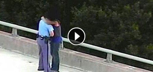officer at bridge saves man from suicide